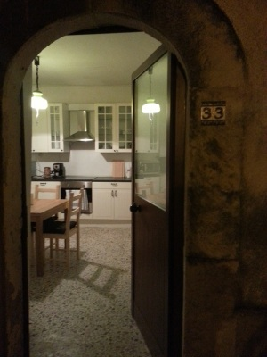 Front Door entry into kitchen - welcome!